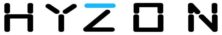 Hyzon Logo on White
